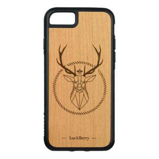 Capa iPhone 8/ 7 Carved Cervo Majestoso