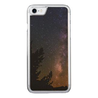 Capa iPhone 8/ 7 Carved Céu nocturno da Via Láctea, Califórnia