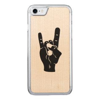 Capa iPhone 8/ 7 Carved Chifres do diabo do rolo da rocha n