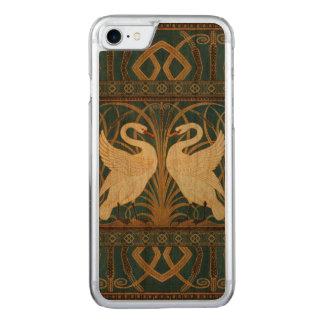 Capa iPhone 8/ 7 Carved Cisne do guindaste de Walter, precipitação e arte