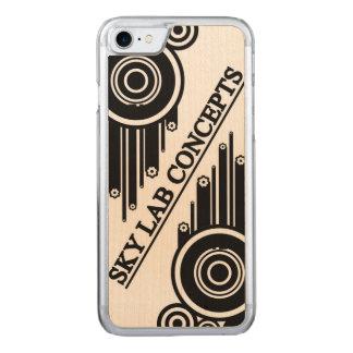 Capa iPhone 8/ 7 Carved Cobrir do telefone do Grunge