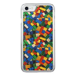 Capa iPhone 8/ 7 Carved Construção dos tijolos da construção dos blocos de