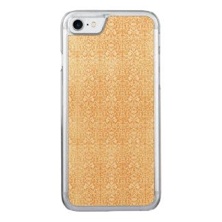 Capa iPhone 8/ 7 Carved Cor damasco envelhecida do ouro amarelo