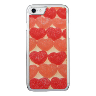 Capa iPhone 8/ 7 Carved Corações dos doces em seguido