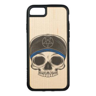 Capa iPhone 8/ 7 Carved Crânio da rocha do skate