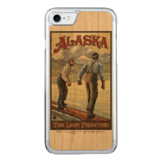 "Capa iPhone 8/ 7 Carved De ""registo Alaska """