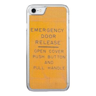 Capa iPhone 8/ 7 Carved Design da liberação da porta de emergência do