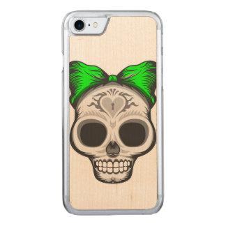Capa iPhone 8/ 7 Carved Design do crânio do açúcar