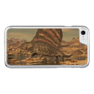 Capa iPhone 8/ 7 Carved Dimetrodon que está em uma lagoa no deserto