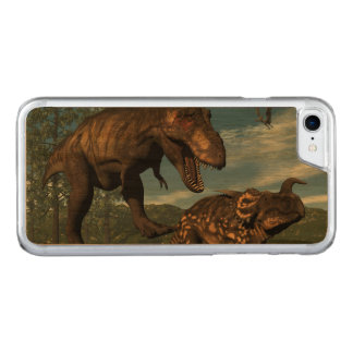 Capa iPhone 8/ 7 Carved Dinossauro de ataque do einiosaurus do rex do
