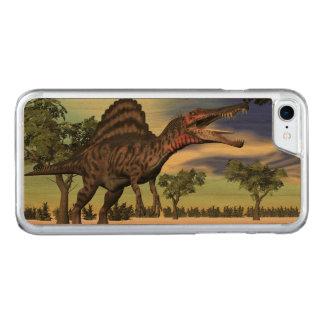 Capa iPhone 8/ 7 Carved Dinossauro de Spinosaurus no deserto - 3D rendem