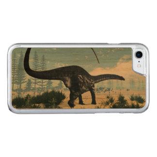 Capa iPhone 8/ 7 Carved Dinossauro do Apatosaurus no deserto - 3D rendem