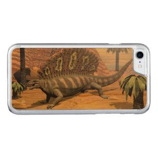 Capa iPhone 8/ 7 Carved Dinossauro do Edaphosaurus que anda no deserto