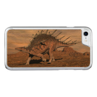 Capa iPhone 8/ 7 Carved Dinossauro do Kentrosaurus no deserto - 3D rendem