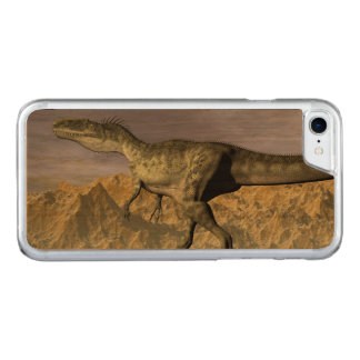 Capa iPhone 8/ 7 Carved Dinossauro do Monolophosaurus no deserto - 3D