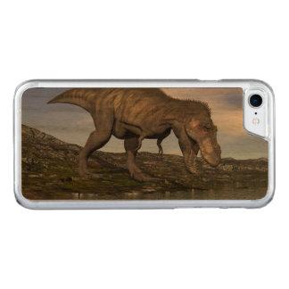 Capa iPhone 8/ 7 Carved Dinossauro do rex do tiranossauro - 3D rendem