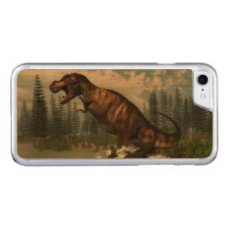 Capa iPhone 8/ 7 Carved Dinossauro do rex do tiranossauro atacado pelo