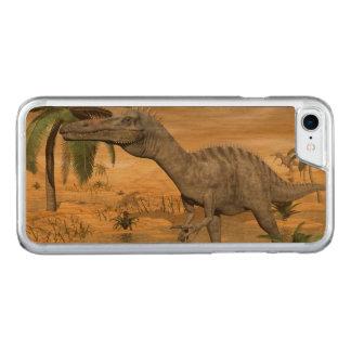 Capa iPhone 8/ 7 Carved Dinossauros de Suchomimus no deserto - 3D rendem