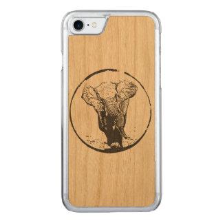 Capa iPhone 8/ 7 Carved Elefante de carregamento por EKLEKTIX