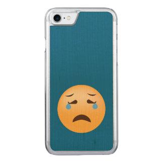 Capa iPhone 8/ 7 Carved Emoji triste