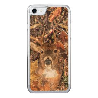 Capa iPhone 8/ 7 Carved Energia da queda da cabeça dos cervos da cauda