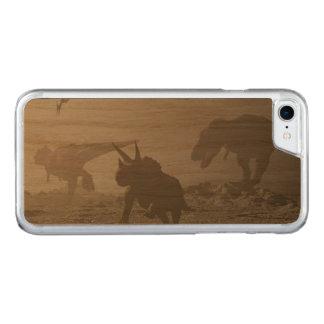Capa iPhone 8/ 7 Carved Extinção dos dinossauros - 3D rendem