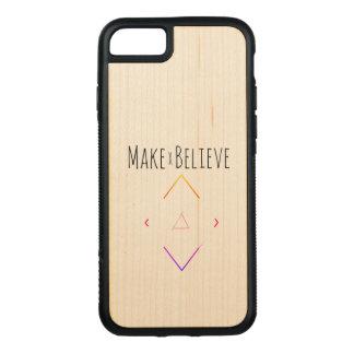Capa iPhone 8/ 7 Carved Faça e acredite