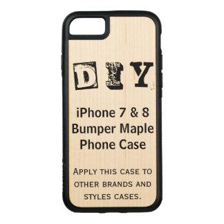 Capa iPhone 8/ 7 Carved Faça-o você mesmo (mais opções) -