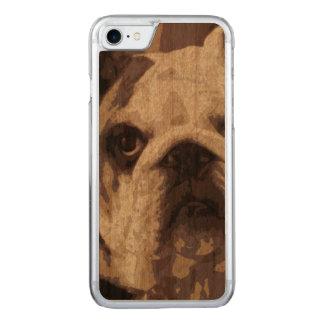 Capa iPhone 8/ 7 Carved Fim do buldogue