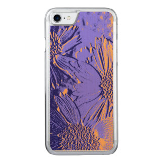 Capa iPhone 8/ 7 Carved Flores 2 do abstrato
