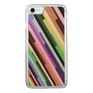 Capa iPhone 8/ 7 Carved Fractal Variegated listrado