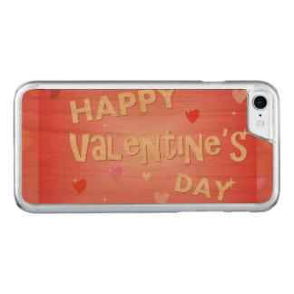 Capa iPhone 8/ 7 Carved Fundo do feliz dia dos namorados