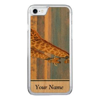 Capa iPhone 8/ 7 Carved Girafas
