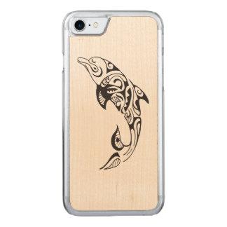 Capa iPhone 8/ 7 Carved Golfinho tribal