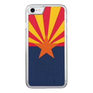 Capa iPhone 8/ 7 Carved Gráfico dinâmico da bandeira do estado da arizona