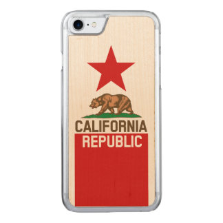 Capa iPhone 8/ 7 Carved Gráfico dinâmico da bandeira do estado de