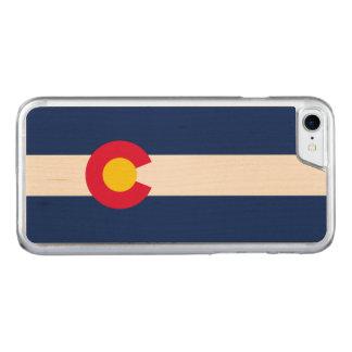 Capa iPhone 8/ 7 Carved Gráfico dinâmico da bandeira do estado de Colorado