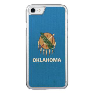 Capa iPhone 8/ 7 Carved Gráfico dinâmico da bandeira do estado de Oklahoma