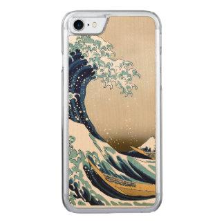 Capa iPhone 8/ 7 Carved Grande onda de alta qualidade fora de Kanagawa por