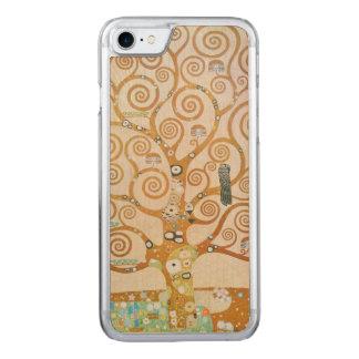 Capa iPhone 8/ 7 Carved Gustavo Klimt a árvore da arte Nouveau da vida
