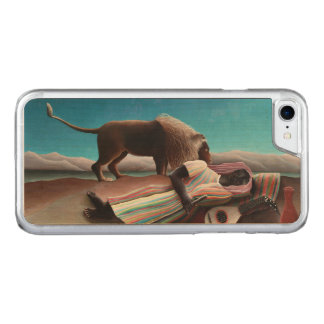 Capa iPhone 8/ 7 Carved Henri Rousseau o vintage aciganado do sono