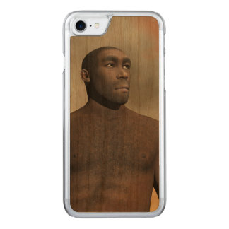 Capa iPhone 8/ 7 Carved Homo erectus masculino - 3D rendem