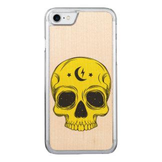 Capa iPhone 8/ 7 Carved Ilustração artística do crânio
