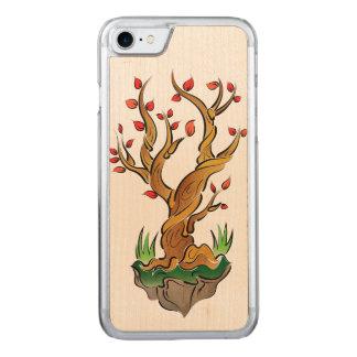 Capa iPhone 8/ 7 Carved Ilustração colorida da árvore