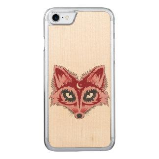 Capa iPhone 8/ 7 Carved Ilustração do Fox