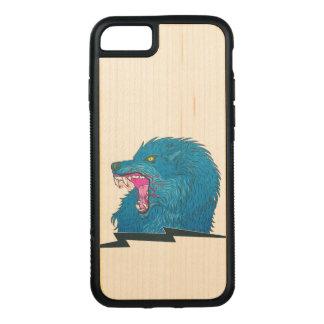 Capa iPhone 8/ 7 Carved Ilustração do lobo