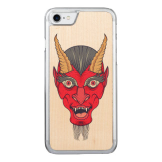 Capa iPhone 8/ 7 Carved Ilustração vermelha de Devill
