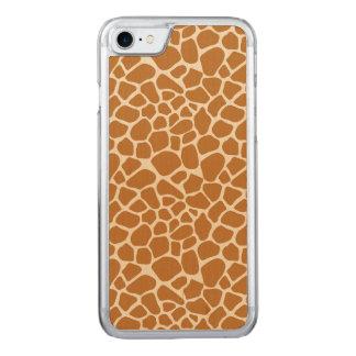 Capa iPhone 8/ 7 Carved Impressão do girafa