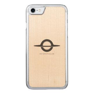Capa iPhone 8/ 7 Carved Interestelar - Gargantua minimalista