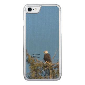 Capa iPhone 8/ 7 Carved iPhone americano 6 da águia americana